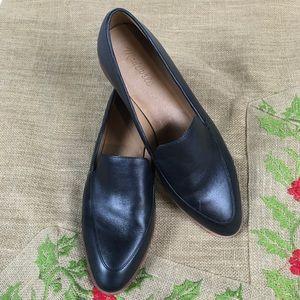 Madewell Frances Loafer/Black Leather/Size 10